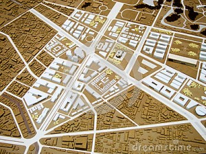 city-model-town-plan-brown-white-40436505